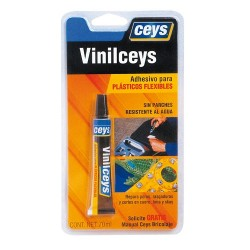Adhesivo para plásticos flexibles Vinilceys 15ml CEYS