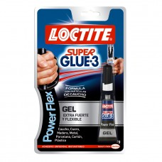 Adhesivo instantáneo Super Glue-3 Power Flex 3gr LOCTITE