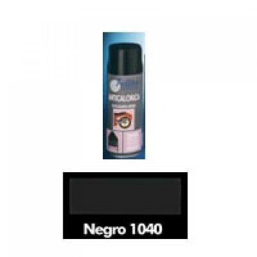 Pintura anticalórica en spray negro 200ml Felton